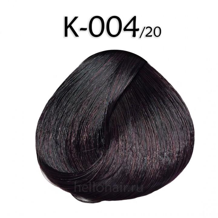 Волосы на капсулах K-004/20, PLUM BROWN, сливово-коричневый, цена за 100 грамм
