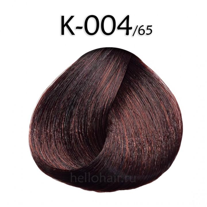 Волосы на капсулах K-004/65, MAHOGANY RED, махагоново-красный, цена за 100 грамм