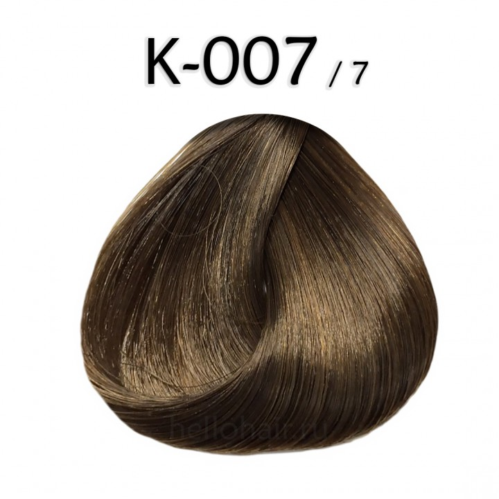 Волосы на капсулах K-007/7, CHESTNUT BLONDE, каштановый блонд, цена за 100 грамм