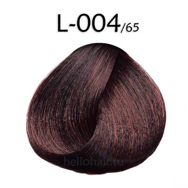 Волосы на лентах L-004/65, MAHOGANY RED, махагоново-красный, цена за 100 грамм