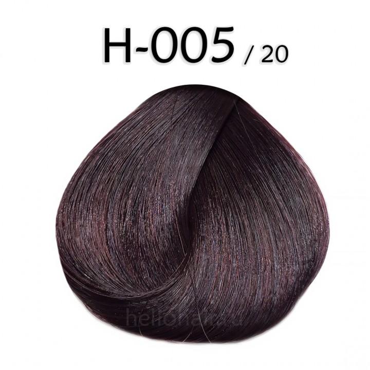 Волосы в срезах H-005/20, LIGHT RADIANT PLUM BROWN, светлый сияющий сливовый коричневый, цена за 100 грамм