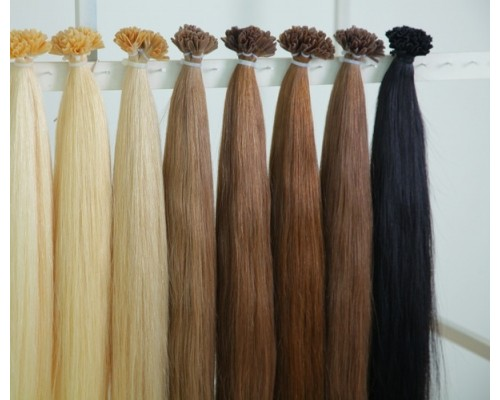 Сколько нужно прядей для наращивания волос?